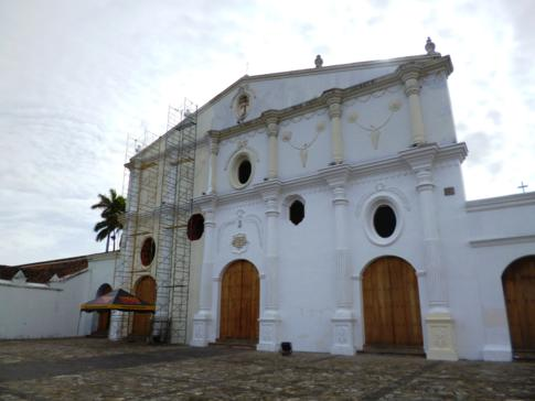 Die Convento San Francisco, eine der Kirchen in Granada