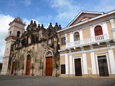 Die La Merced Kirche in Granada