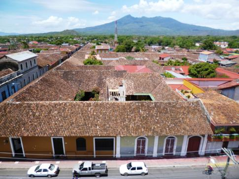 Ausblick von der La Merced Kirche auf Granada