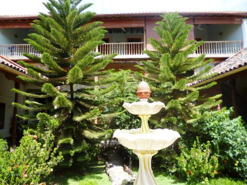 Wundervolle Innenhöfe bestimmen den Baustil in der Kolonialstadt Granada