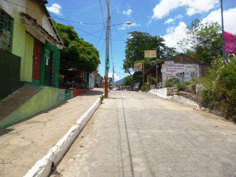 Moyogalpa, der Hauptort auf der Isla de Ometepe