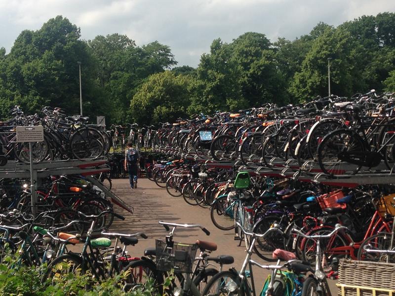 Die gemütliche Innenstadt von Den Haag