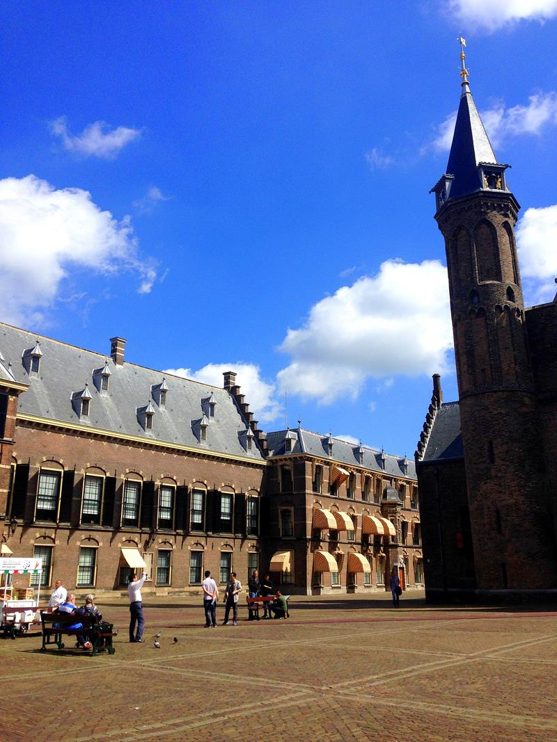Impressionen aus der Innenstadt von Den Haag