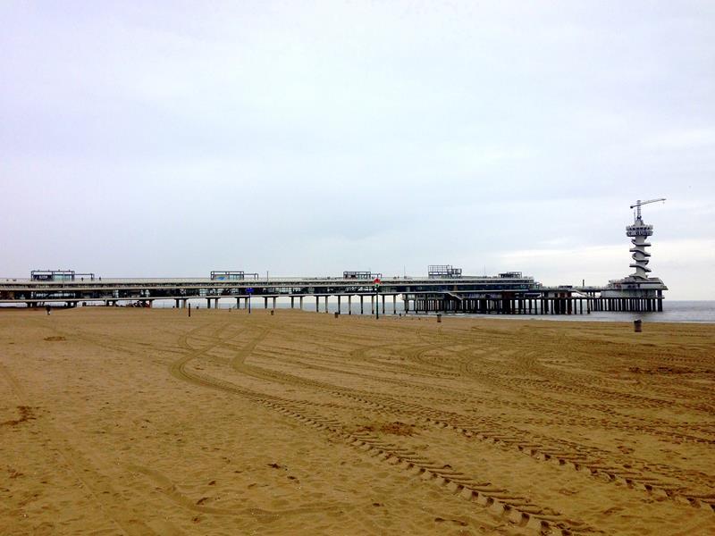 Der Pier von Scheveningen - fast wie in Großbritannien