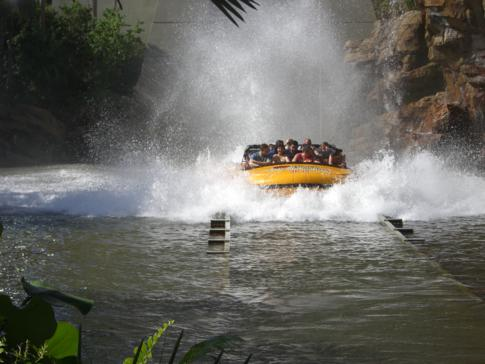 Jurassic Park River Adventure im Islands of Adventure