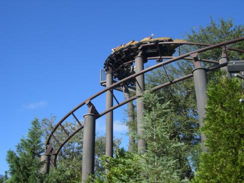 Die ruhige Dragon Challenge im Islands of Adventure