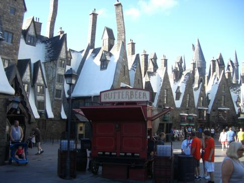 Die neue Themenwelt The Wizarding World of Harry Potter in Orlando, Florida