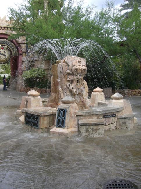 The Mystic Fountain im Freizeitpark Islands of Adventure in Orlando