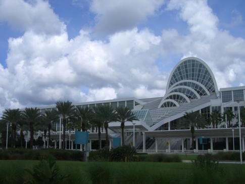 Das große Convention Center in Orlando