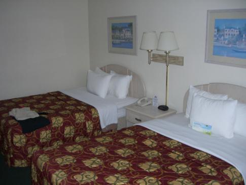 Unser Doppelzimmer im Days Inn Orlando Convention Center