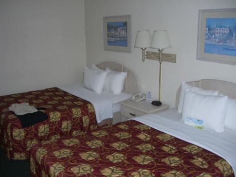 Unser Doppelzimmer im Days Inn Orlando Convention Center