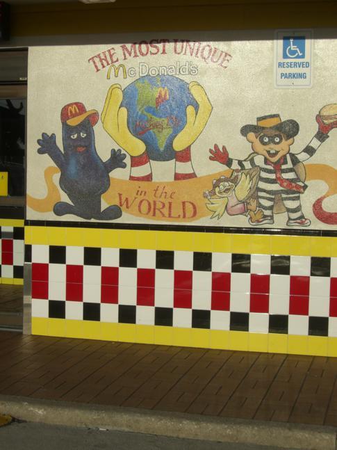 Das vielleicht größte McDonalds der Welt am International Drive in Orlando