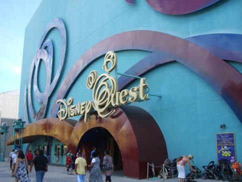 DIsneyQuest in Downtown Disney in Orlando
