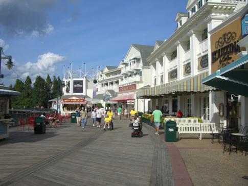 Disneys Boardwalk in Orlando