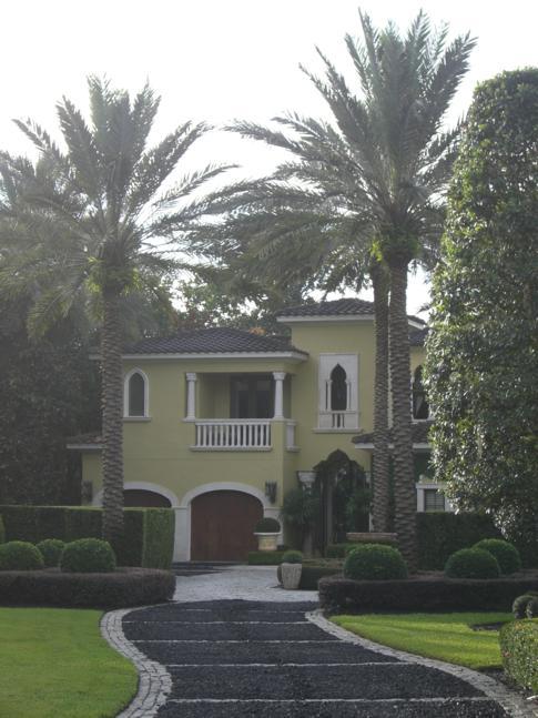 Idylle pur in Winter Park, einem Stadtteil von Orlando