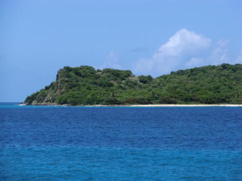 Eine unbewohnte Insel direkt neben Carriacou