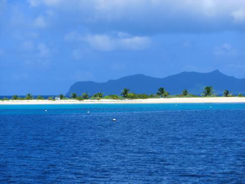 Die perfekte Karibik-Insel als Klischee: Sandy Island