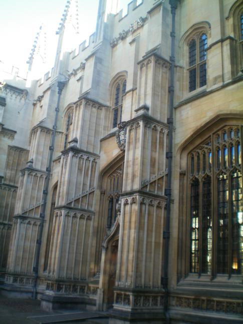 Das Exeter College war auch schon Schauplatz eines Harry Potter Films