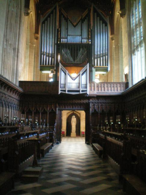Die Kirche des New College