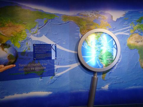 Die beeindruckende Ausstellung über den Panamakanal