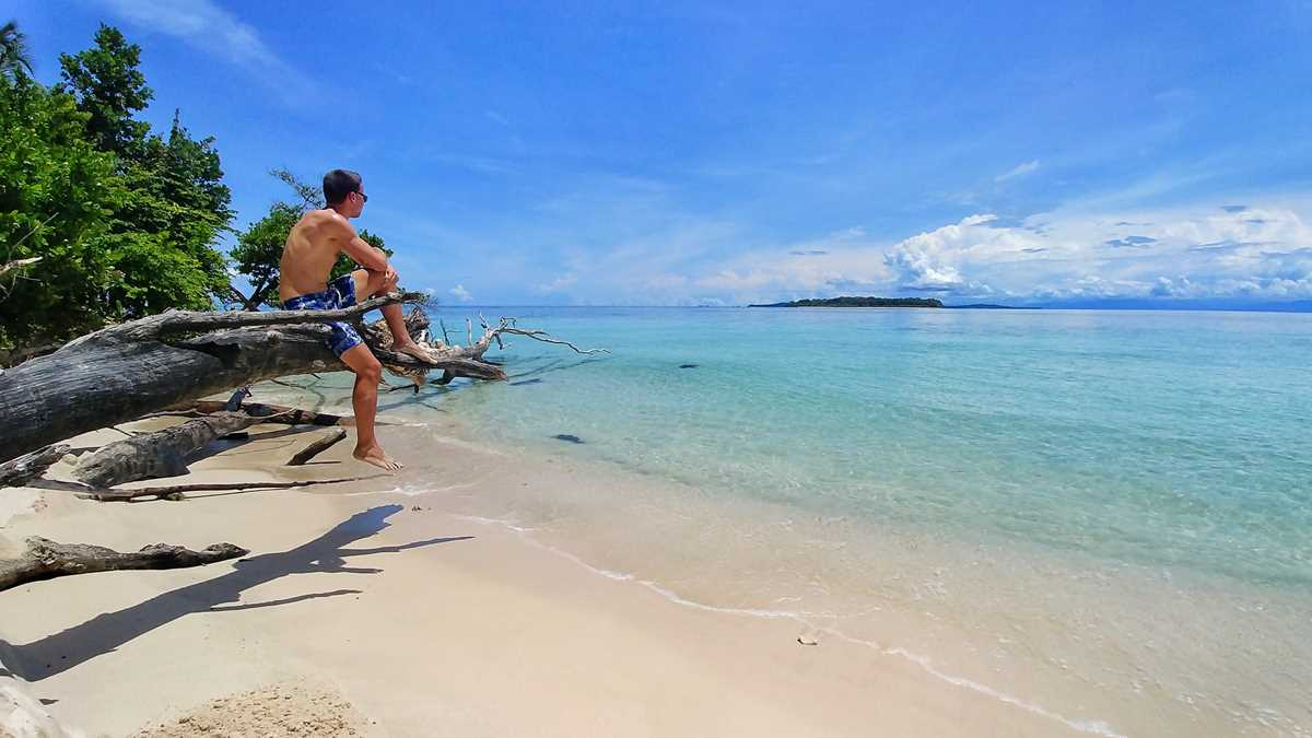 Unfassbares Karibik-Paradies auf Cayo Zapatilla in den Bocas del Toro in Panama