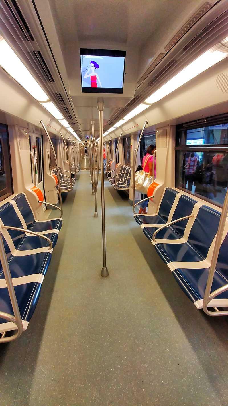 Die moderne Metro von Panama-Stadt