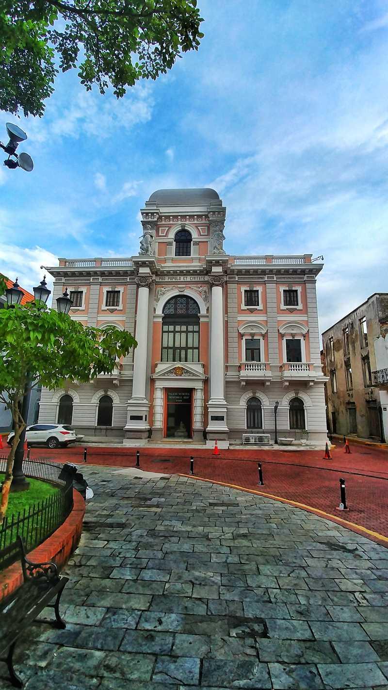 Die sehr hübsche historische Altstadt von Panama-Stadt, die Casco Viejo Panama City