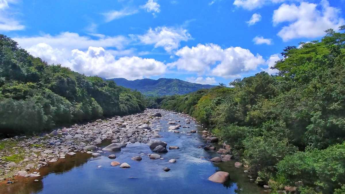Die faszinierende Berg-Landschaft von Panama in Boquete