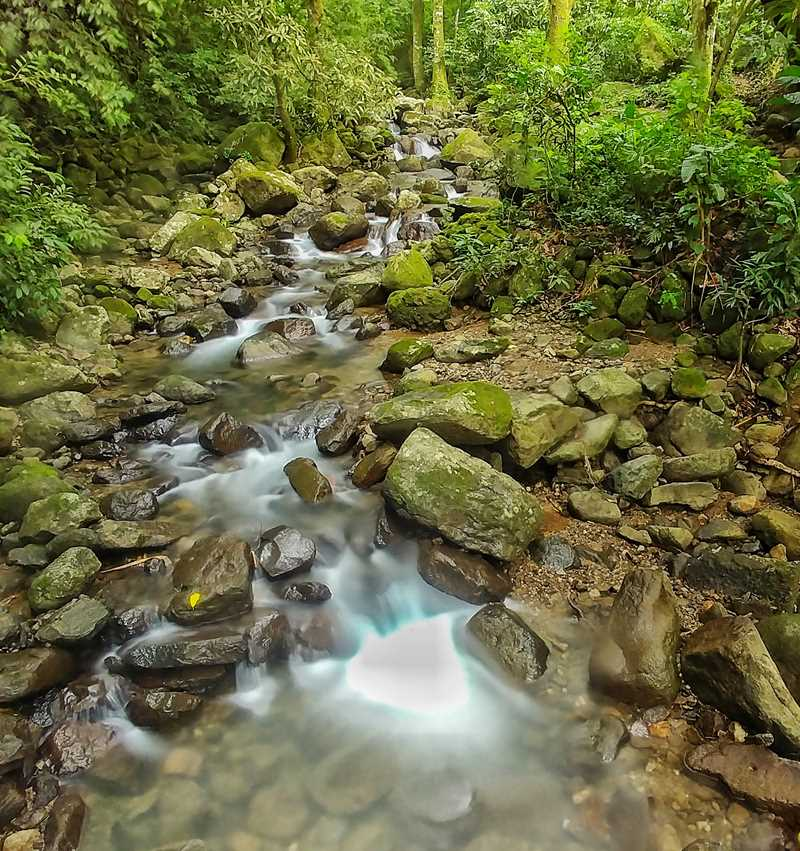 Wanderung zum India Durmida in El Valle de Anton im Zentrum von Panama