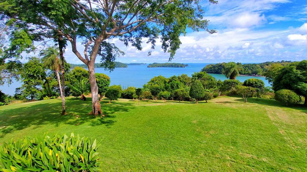 Ausblick von der Unterkunft Boca Brava Paradise auf der Insel Boca Brava im Golf von Chiriqui