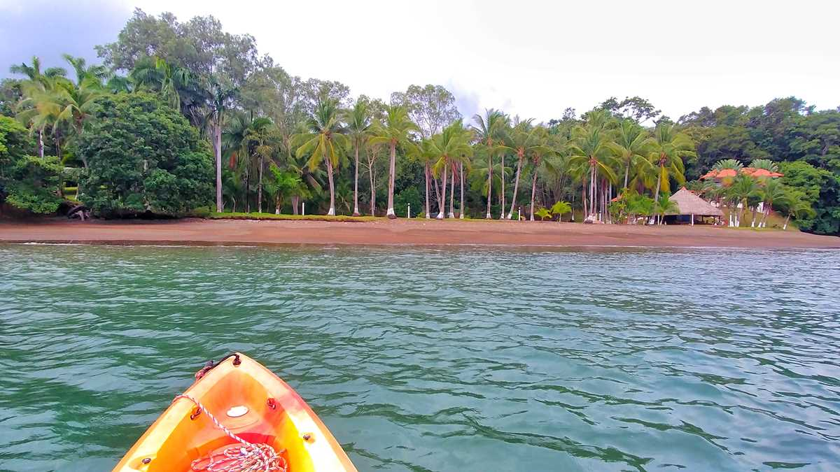 Mit dem Kayak im Golf von Chiriqui