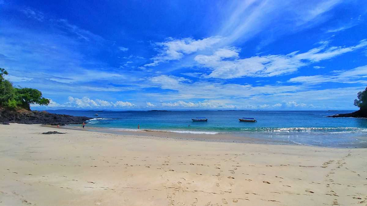 Inselhüpfen-Tour durch den Golf von Chiriqui mit der Isla Bolanos, Isla Perida und Isla Gamez
