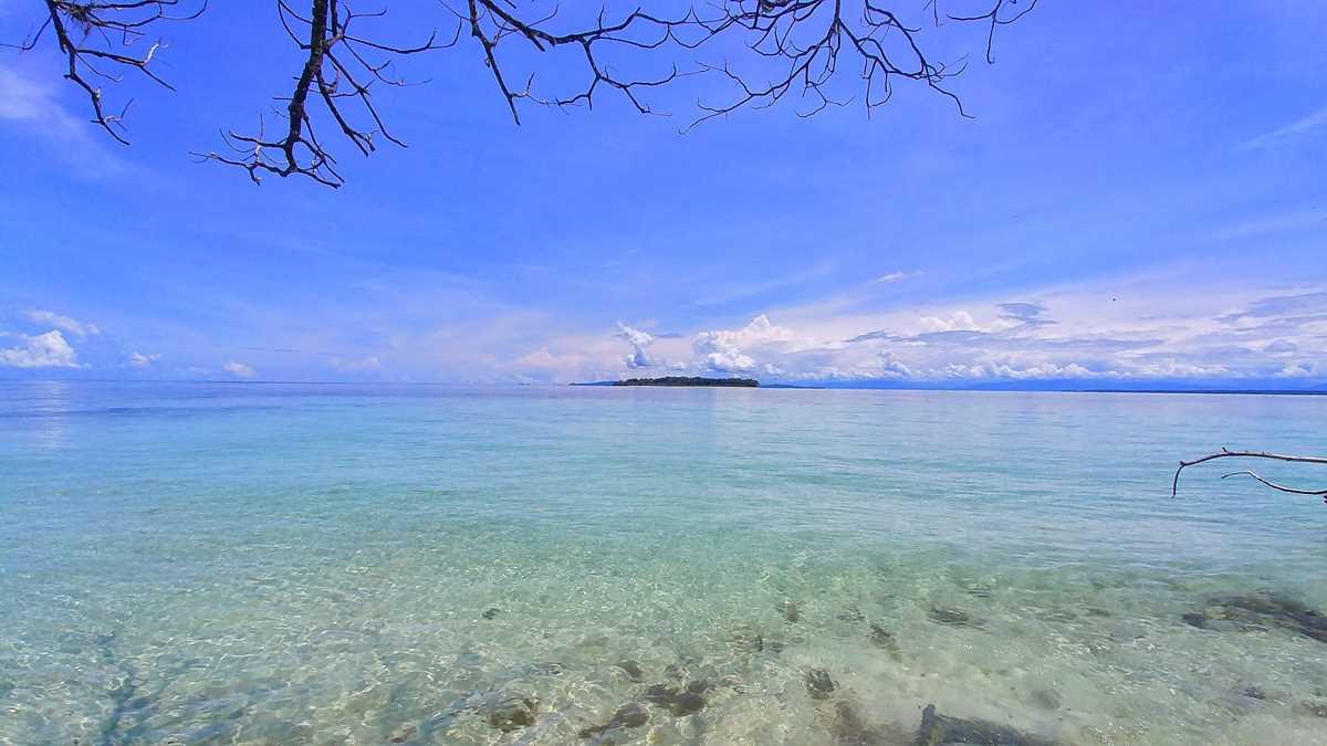 Die paradiesische Insel Cayo Zapotilla im Bocas del Toro Archipel im Nordwesten von Panama