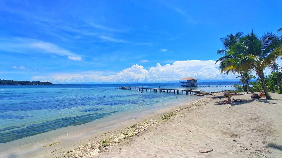 Die Isla Caranero im Bocas del Toro Archipel