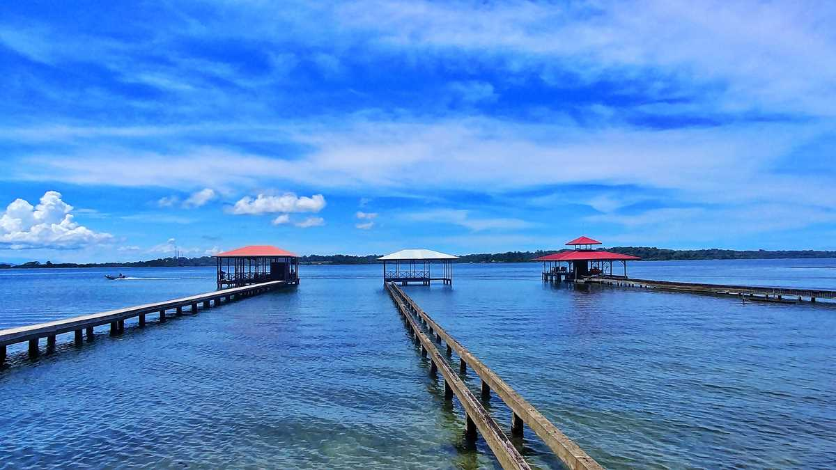 Die Isla Caranero im Bocas del Toro Archipel von Panama