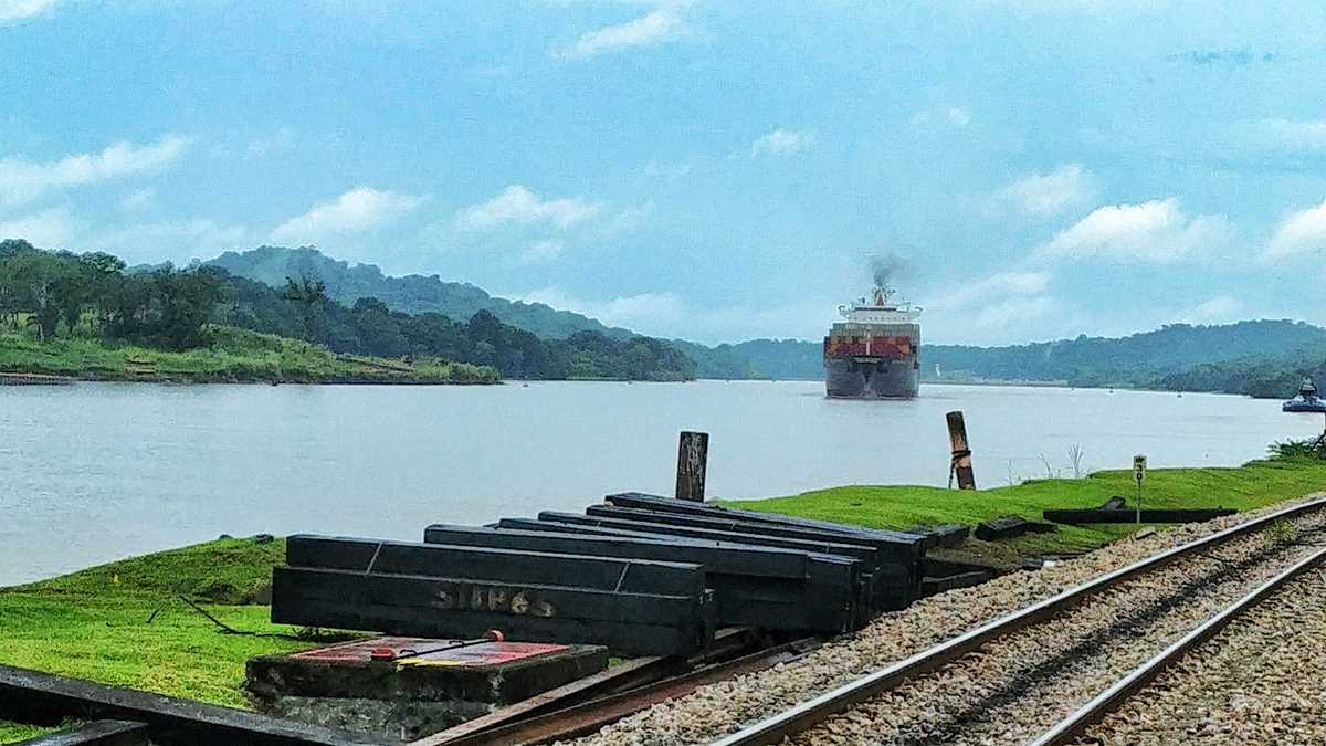 Der Panamakanal bei Gamboa