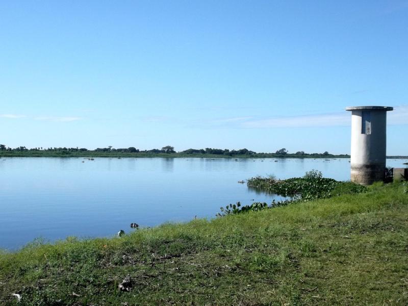 Der Rio Paraguay in Bahia Negra