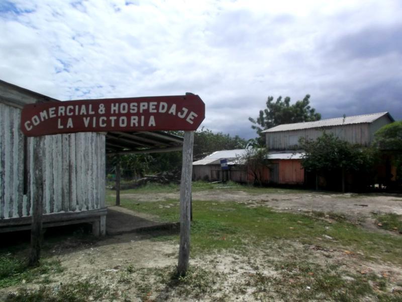 Die Hospedaje La Victoria in Bahia Negra am Rio Paraguay in Bahia Negra