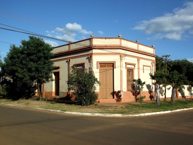 Die Stadt Concepcion in Zentral-Paraguay