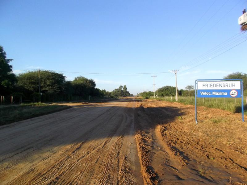 Filadelfia, die deutsche Enklave der Mennoniten im Chaco im Norden von Paraguay