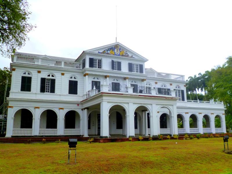 Der Präsidentenpalast von Suriname