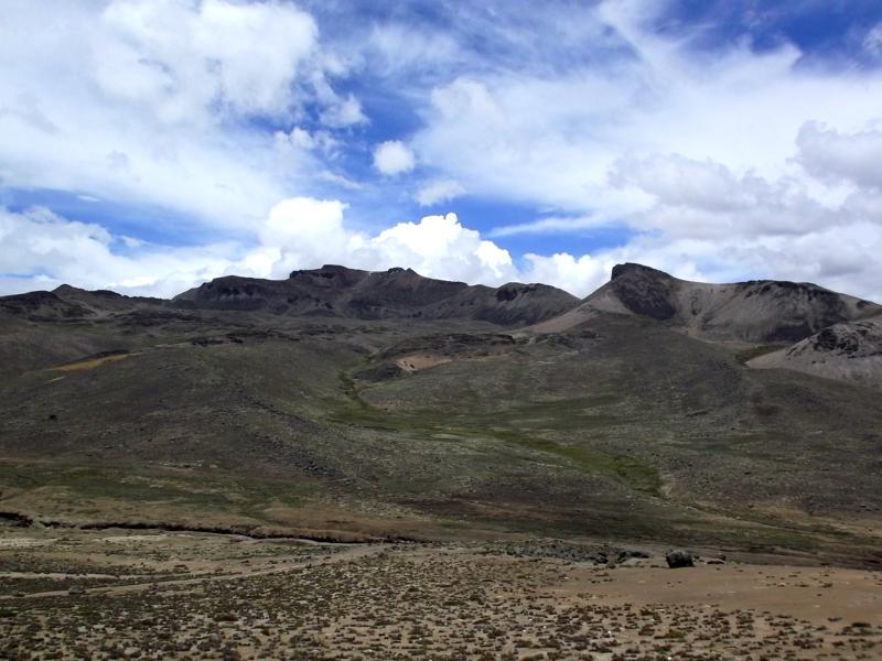 Die spektakuläre Busfahrt von Arequipa über Chivay nach Cabanaconde