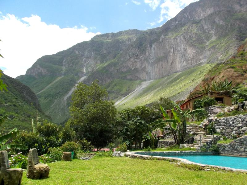 Spektakuläre Wanderung im Colca Canyon, die zweittiefste Schlucht in Peru und der Welt