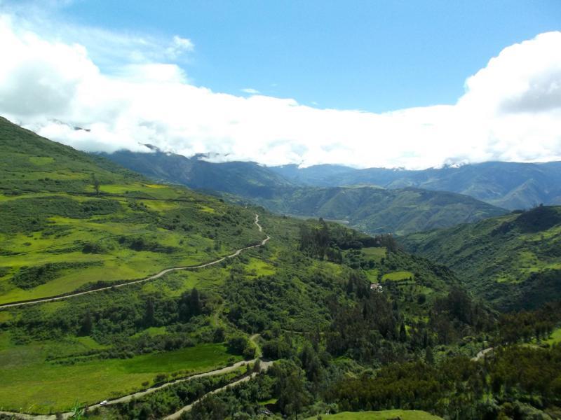 Traumhafte Landschaften während des Salkantay Trek nach Machu Picchu