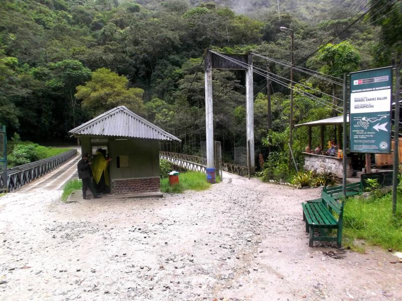 Aguas Caliente, der kleine Ort am Fuße von Machu Picchu