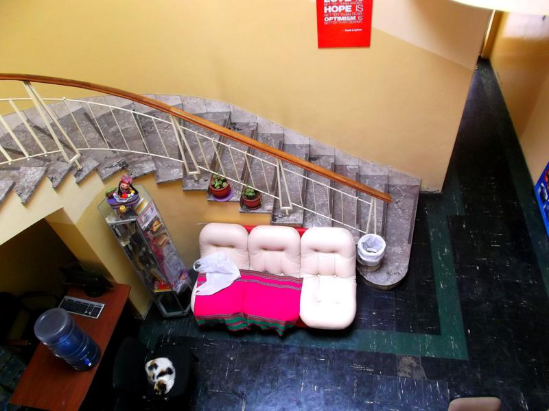 Das sehr schöne Friendly AQP Hostel in Arequipa