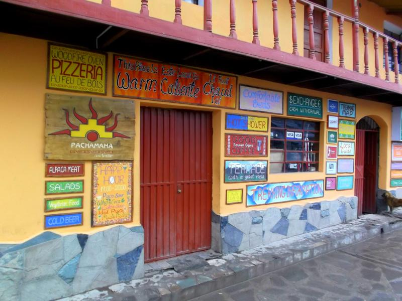 Das Pachamama Hostel in Cabanaconde am Rande des Colca Canyon