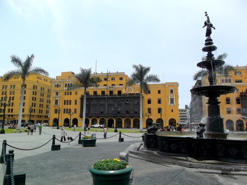 Das Centro Historico von Perus Hauptstadt Lima