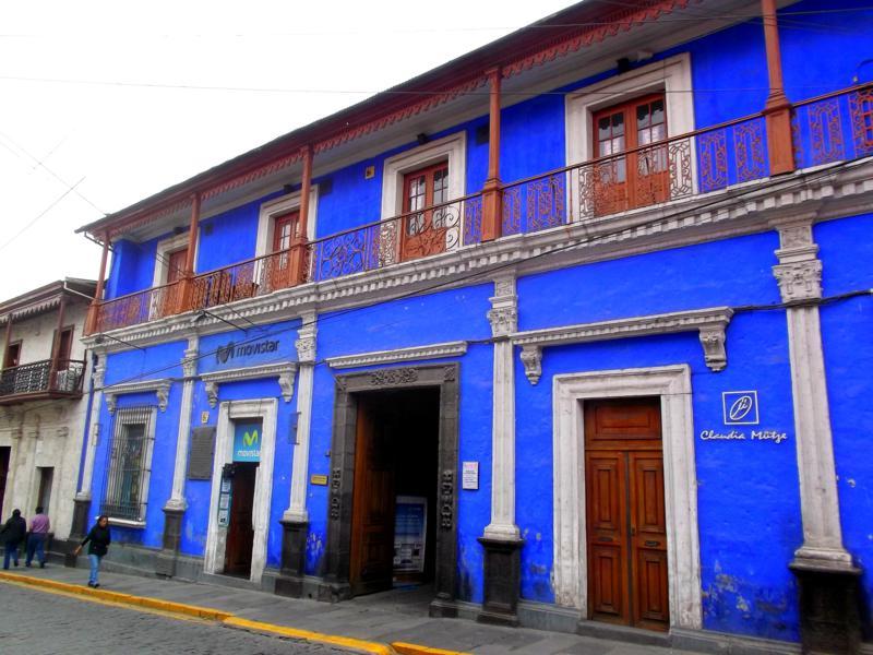 Arequipa, eine Welterbe-Stadt im Süden von Peru