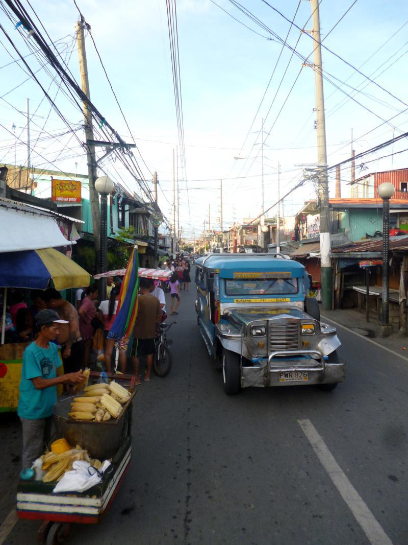 Markt-Action in Manila, die lebendige Hauptstadt der Philippinen